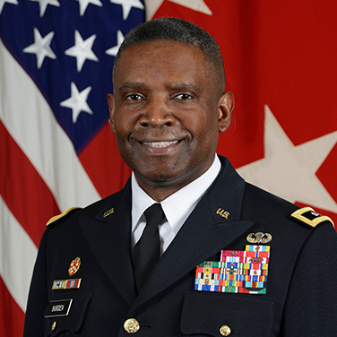 Headshot of MG Patrick W. Burden, USA, Director, Combat Systems, U.S. Army Futures Command