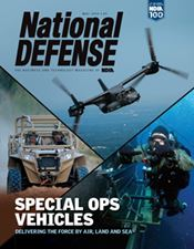 National Defense Magazine Special Ops Vehicles cover